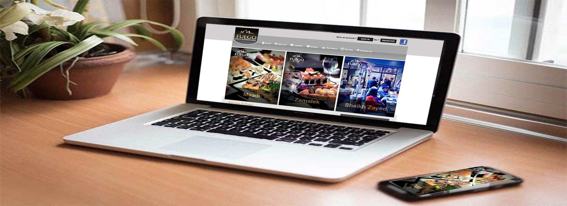 Fuego Restaurants Website