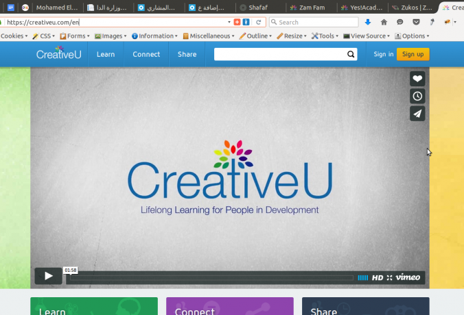 CreativeU Portal